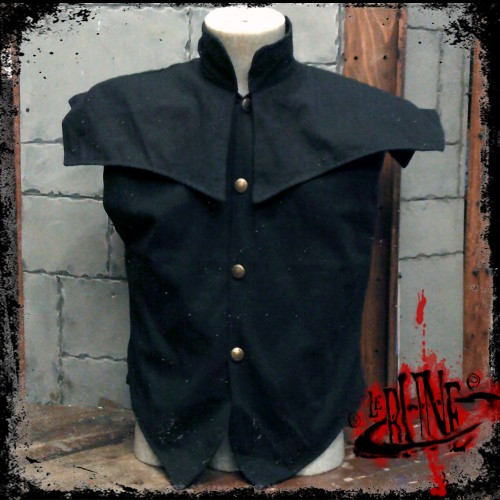 Canvas jacket Pollux black