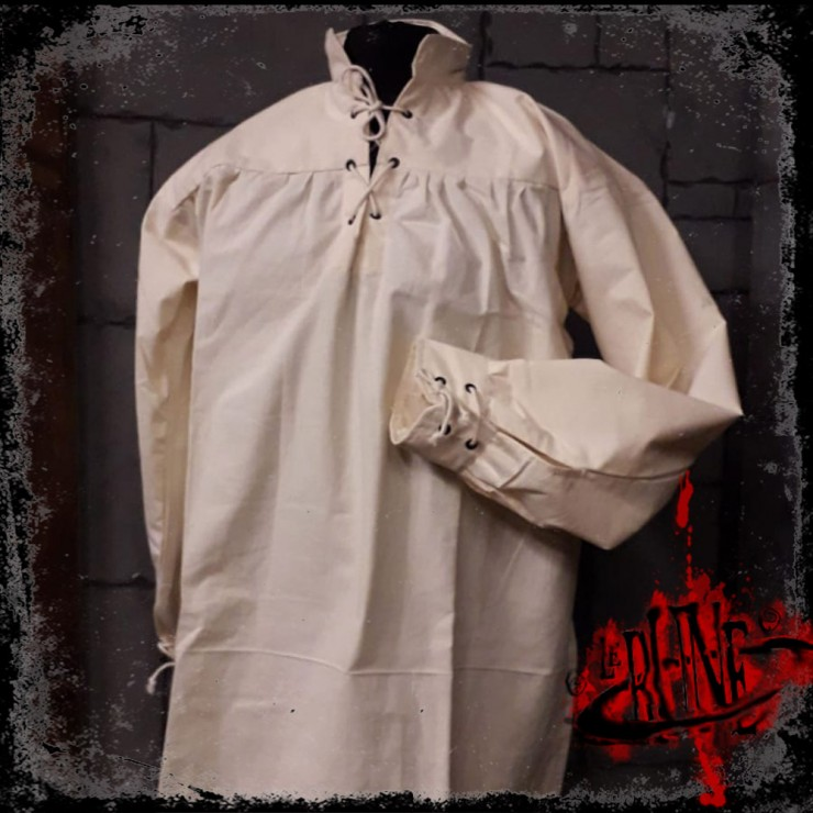 Cotton shirt Tristan Nature