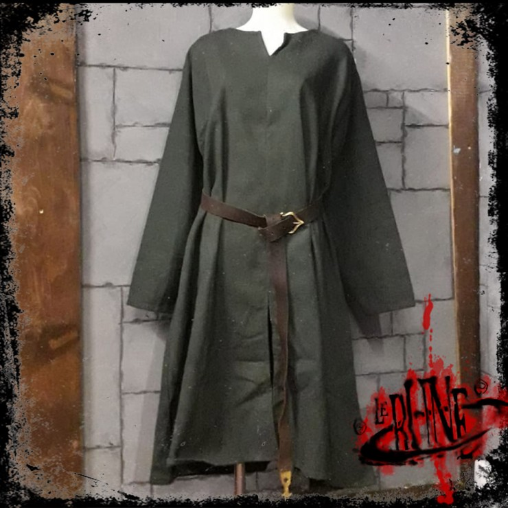 Canvas tunic Hector Olive Green
