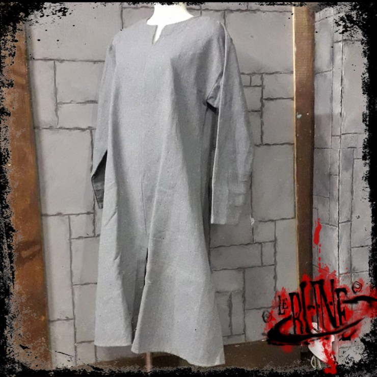 Canvas tunic Hector Grey