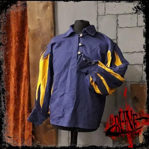 Canvas shirt Olaf  Blue/Yellow