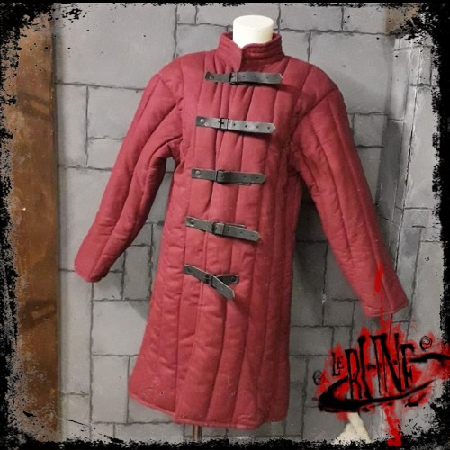 Gambeson jacket Tristan Wine Red