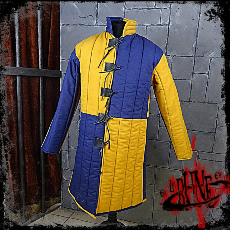 Gambeson jacket Olaf Blue / Yellow