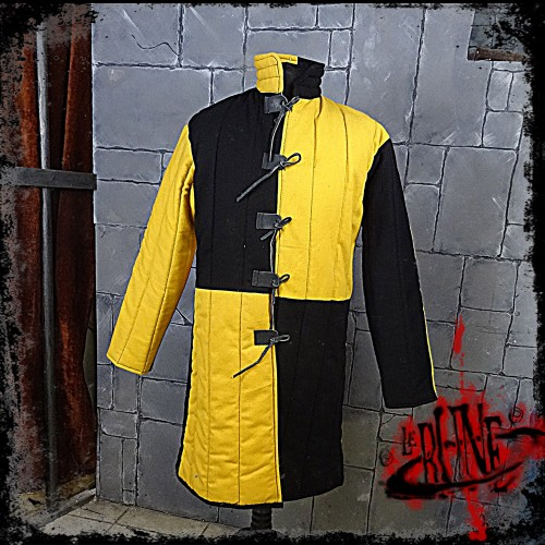 Gambeson jacket Olaf Black / Yellow