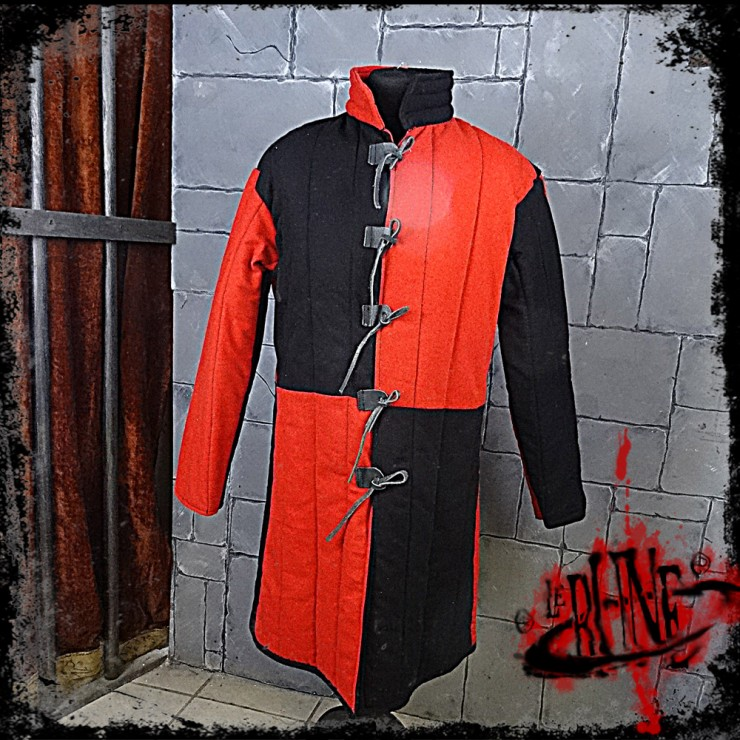 Gambeson jacket Olaf Black / Red