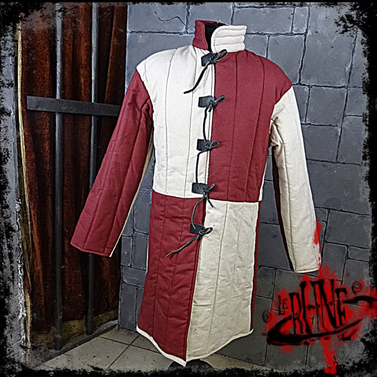 Gambeson jacket Olaf Wine red / Nature