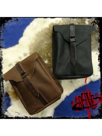 Leather Beltbag Gareth (large)