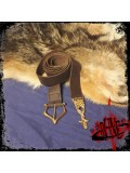 Lancelot leather belt