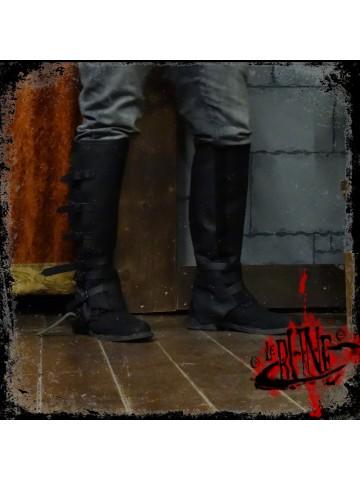 Gaiters in leather Rackham