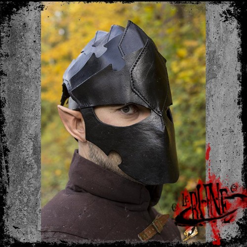 Leather helmet Assassin