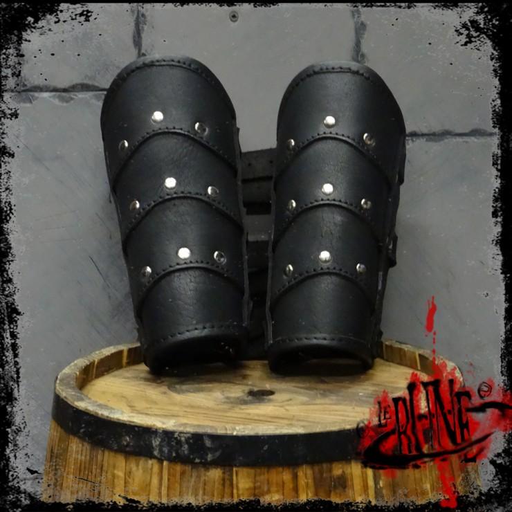 Leather bracers Roman