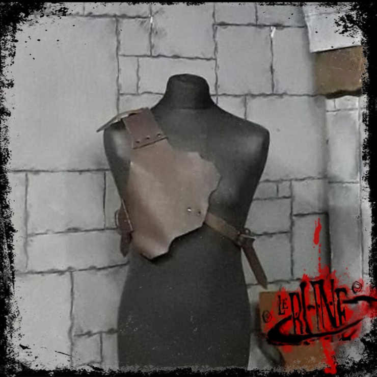 Leather shoulder harness Maximus