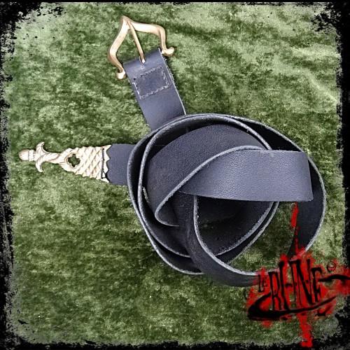 Leather Arthur belt
