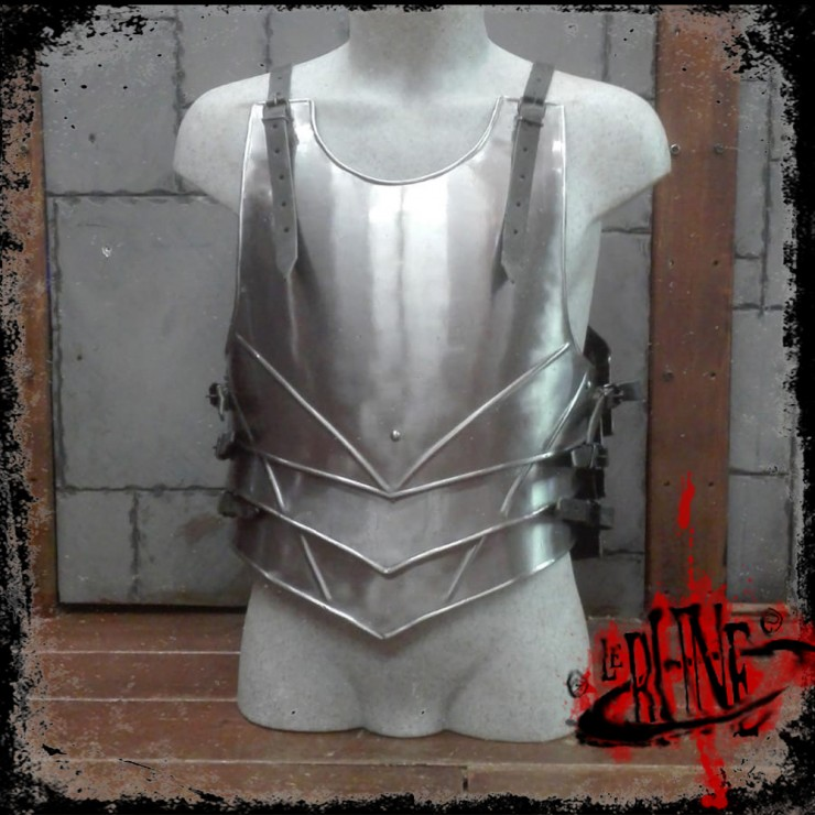 Steel breastplate Malfred
