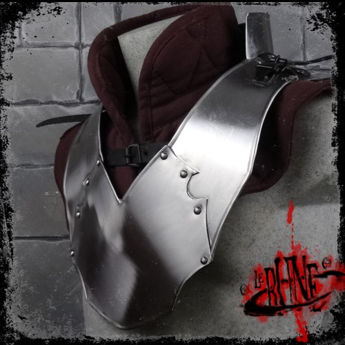 Steel gorget Gherman