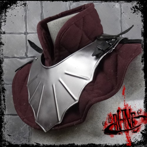 Steel gorget Malfred