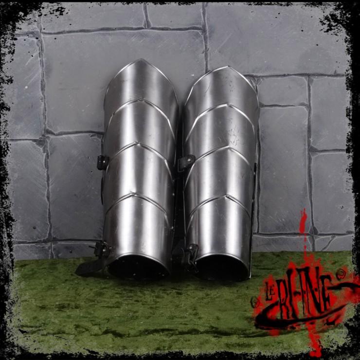 Steel greaves Gherman