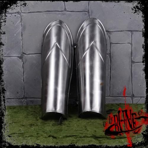 Steel greaves Parsifal