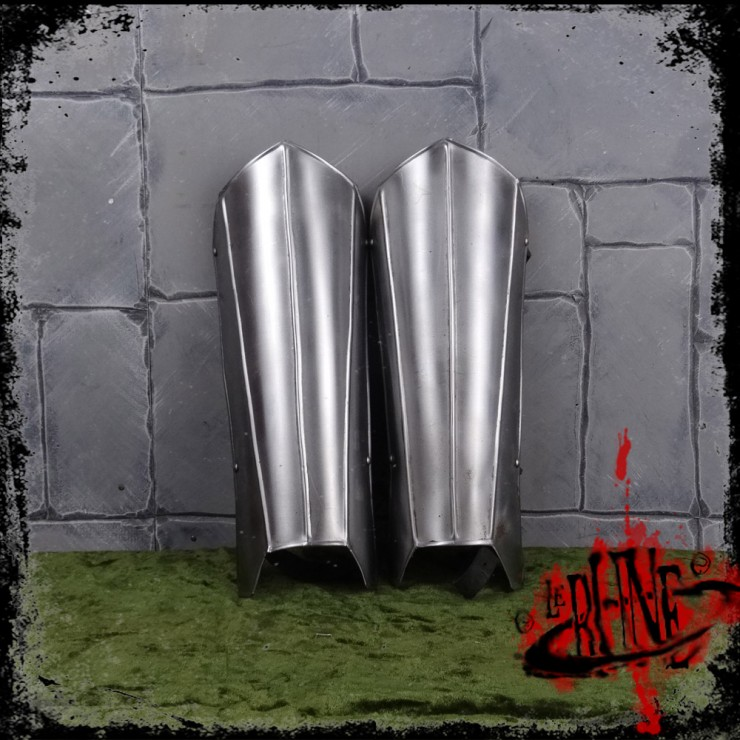 Steel greaves Marmon