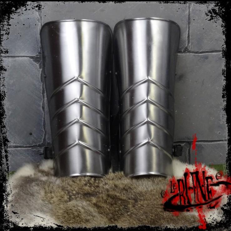Steel greaves Malfred