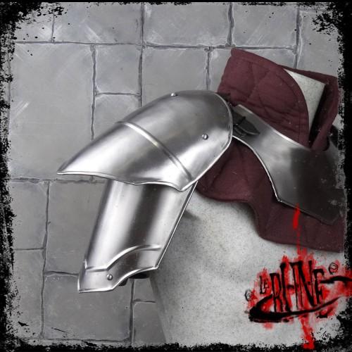 Steel pauldrons Valeron