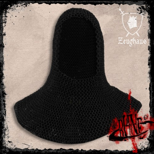 Steel Chainmail coif