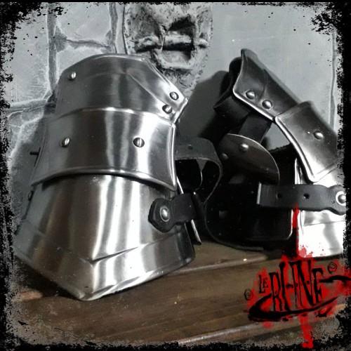 Steel gauntlets Valeron